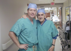 Dr. Frank Wessels and Dr. Rick Saleeby, Sr.